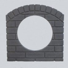 culvert-pipe-cover/Culvert-pipe-cover-15-inch-dark-granite-residential-driveway-drainage
