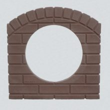 culvert-pipe-covers/Culvert-pipe-cover-15-inch-red-brick-residential-driveway-drainage