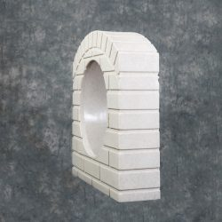 culvert-pipe-covers/Culvert-pipe-cover-15-inch-sandstone-residential-driveway-drainage