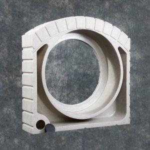 15 inch Sandstone Culvert pipe-cover two inch plug